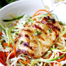 Thai Chicken Zoodles Recipe