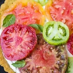 Ricotta Heirloom Tomato Tart Recipe