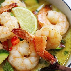 Green Curry Shrimp Recipe