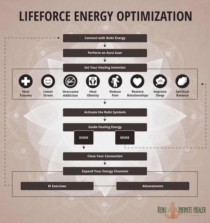 Lifeforce Energy Optimization