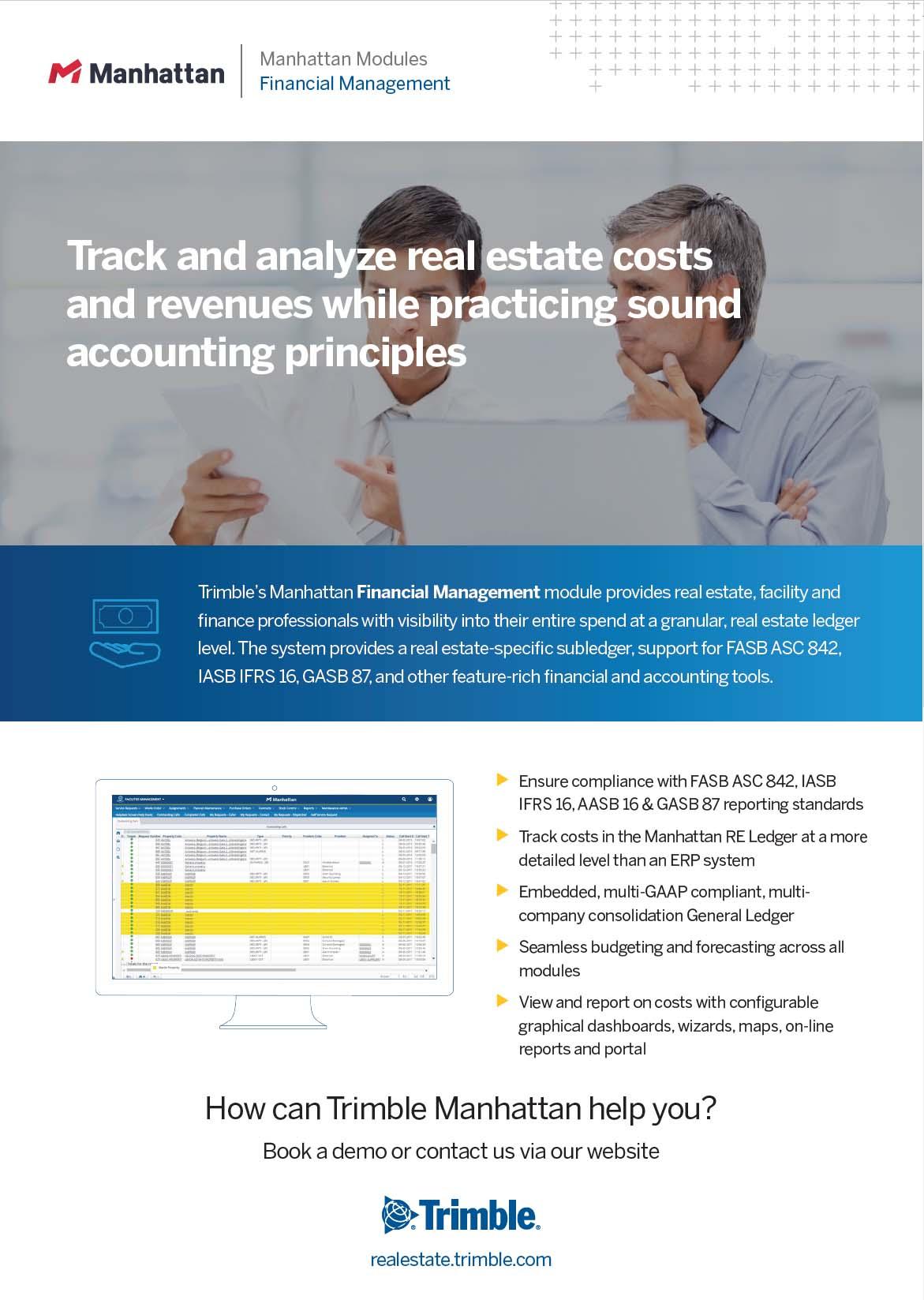 Manhattan – Financial Management
