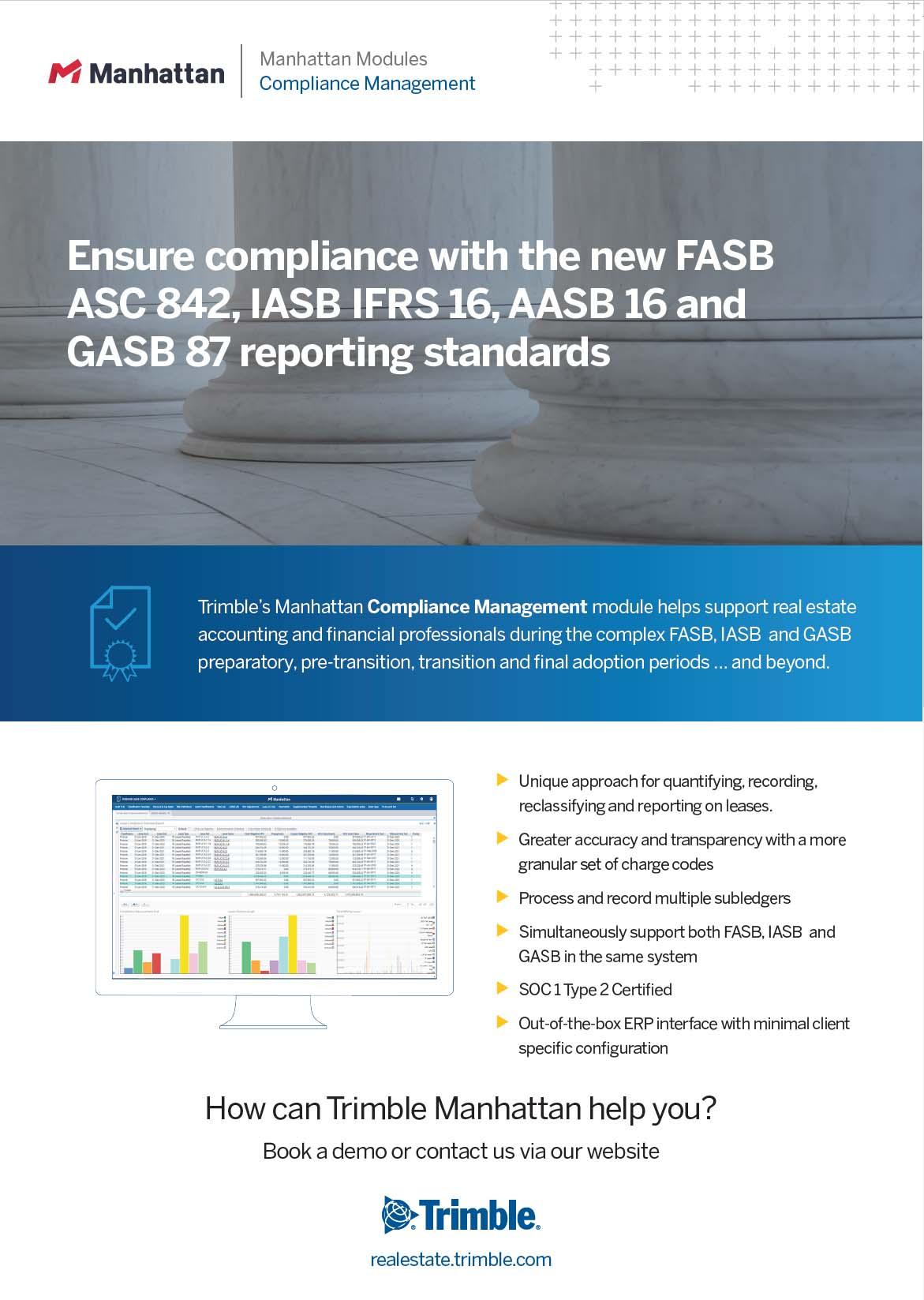 Manhattan – Compliance Management