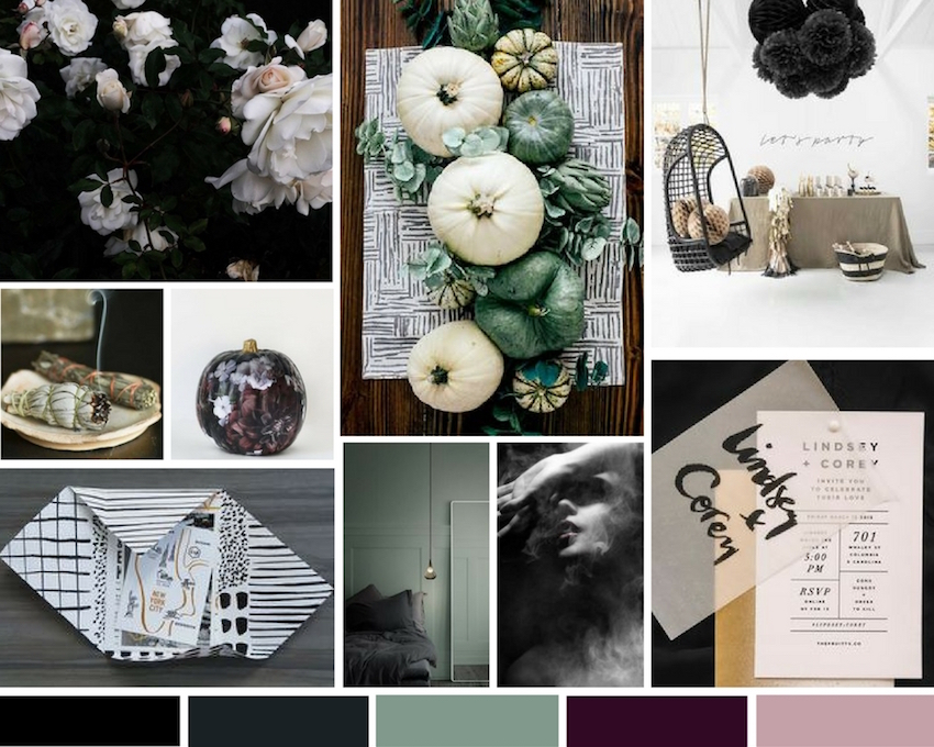 A sophisticated take on a Halloween celebration from RO & Co. Events.