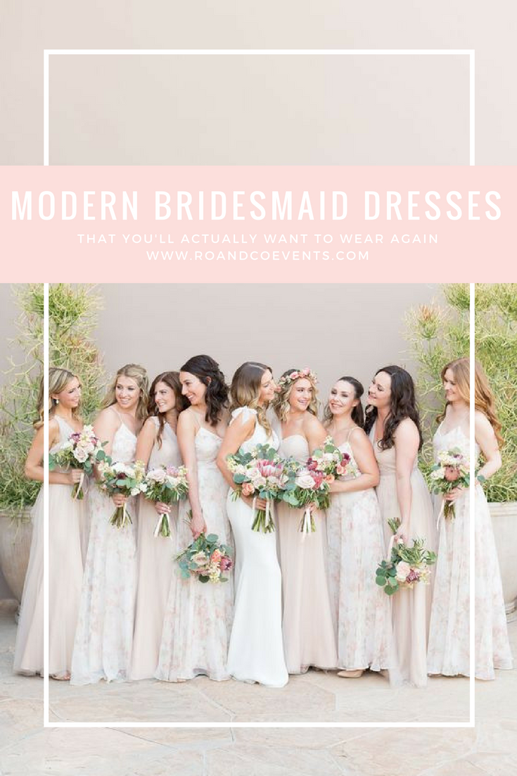 Modern Trendy And Unique Bridesmaid Dress Resources For All Budgets