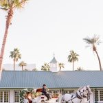 Wedding Ceremony horse and carriage Empire Polo Club RO & Co. Events Destination Wedding Planner