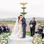 Wedding Ceremony bride and groom Empire Polo Club RO & Co. Events Destination Wedding Planner