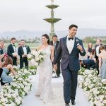 Wedding Ceremony bride and groom Empire Polo Club RO & Co. Events Destination Wedding Planner