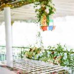 Wedding escort cards floral lantern RO & Co. Events Destination Wedding Planner