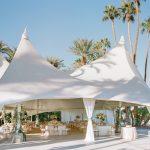 Wedding reception tent Empire Polo Club RO & Co. Events Destination Wedding Planner