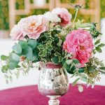 Colorful wedding floral velvet linen RO & Co. Events Destination Wedding Planner