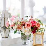 Wedding details floral bar menu RO & Co. Events Destination Wedding Planner