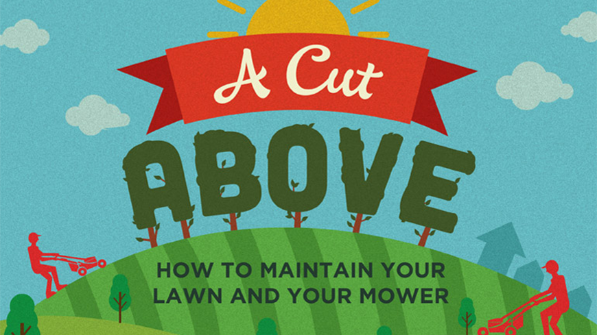 Lawn Mower Maintenance Infographic