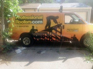new roof - professional roofers