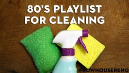 80's playlist for cleaning