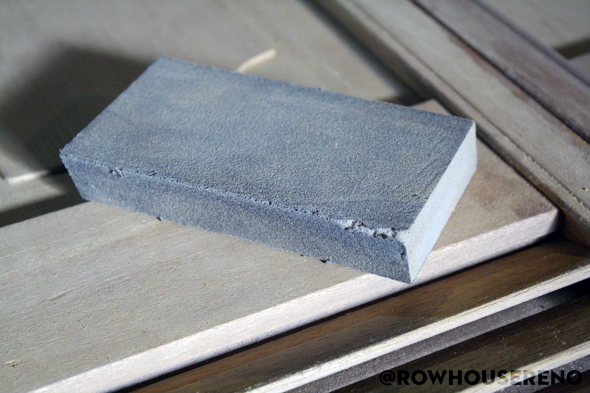 used sanding sponge