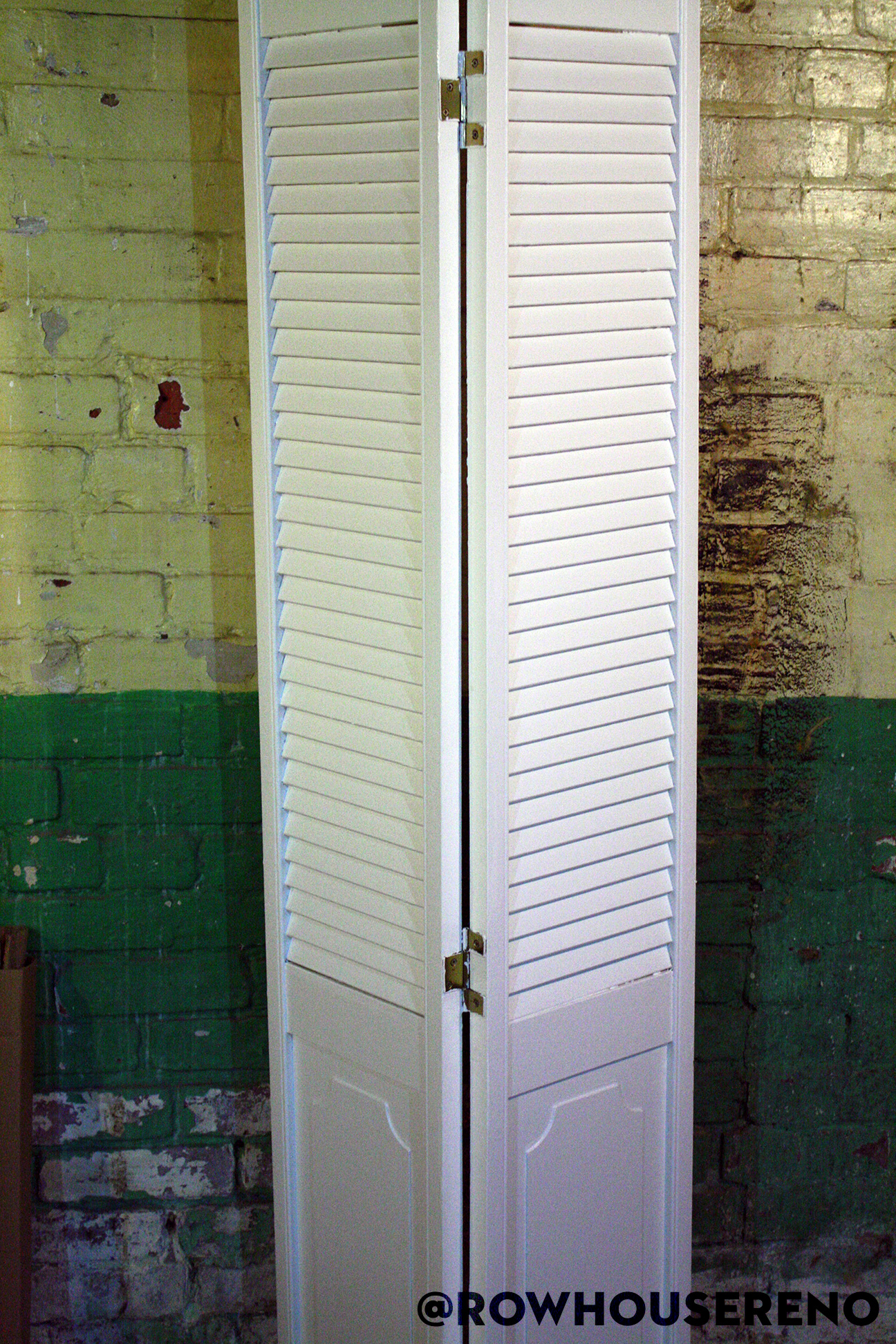repainted bifold door