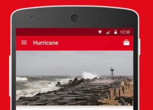 red cross hurricane app useful for property owners