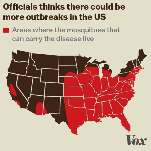 The Danger Of Standing Water In Florida Zika Virus Real - Zika virus map us