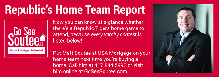 soutee-schedule page