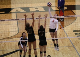 Volleyball  Varsity vs Willard 8
