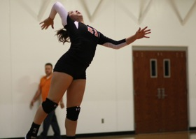 Volleyball  Varsity vs Willard 3