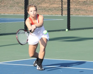Tennis  Girls vs Nixa 017