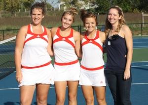 Tennis  Varsity vs Neosho  Districts 7