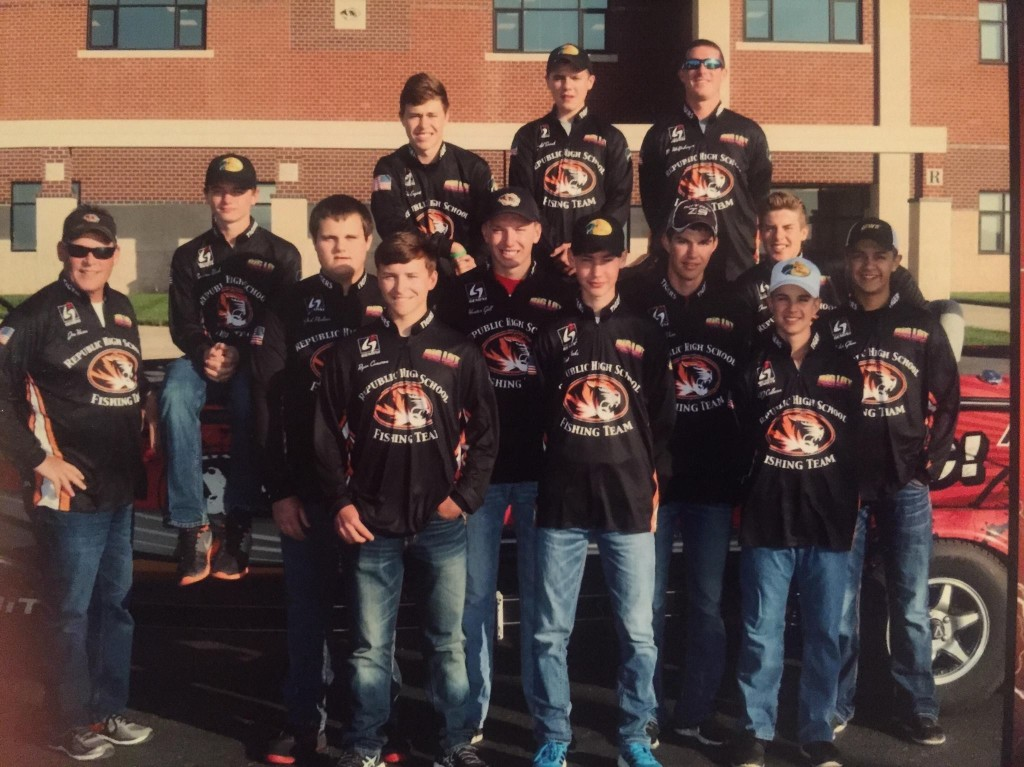 Republic Anglers Take 2nd At State Tourney
