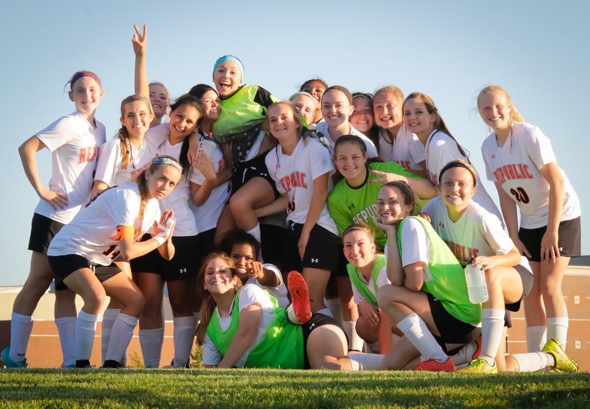Photos: Varsity Girls Soccer Vs Monett