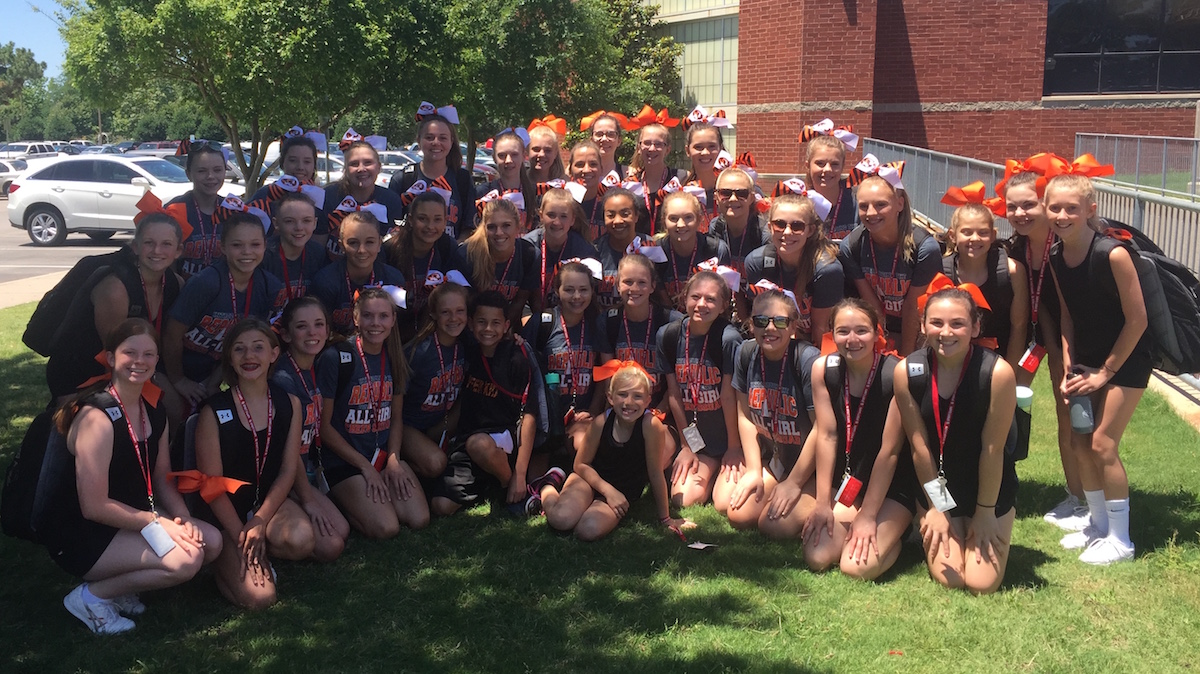 Cheer Squad Competes At OU Camp