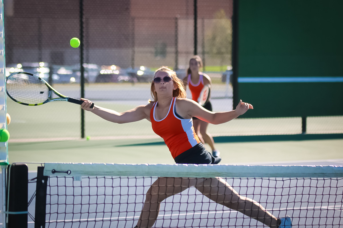 Photos: Varsity Tennis Vs Parkview (Districts)