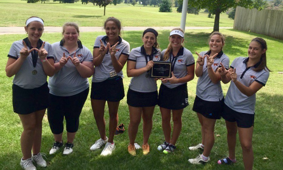 Lady Tigers Grab Title Behind Hamilton's Record Day