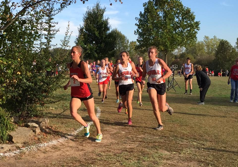 Kirby Leads Republic Cross-Country At COC