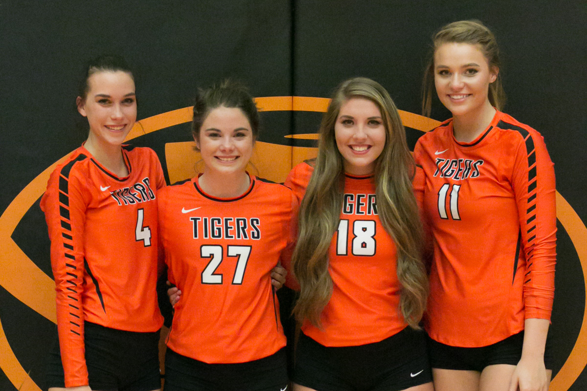 Senior Sweep: Lady Tigers Honor Seniors, Finish Strong