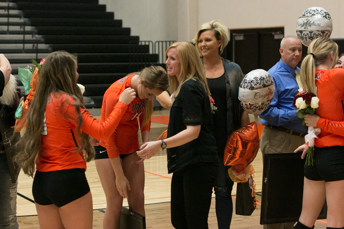 Senior Night Tributes: Volleyball