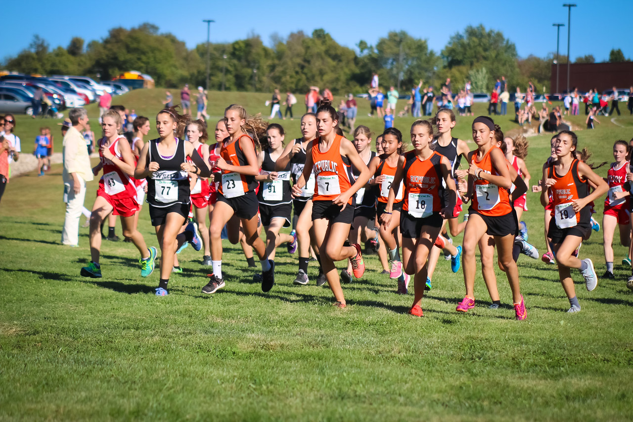 Middle School Cross Country Lands 2nd In COC