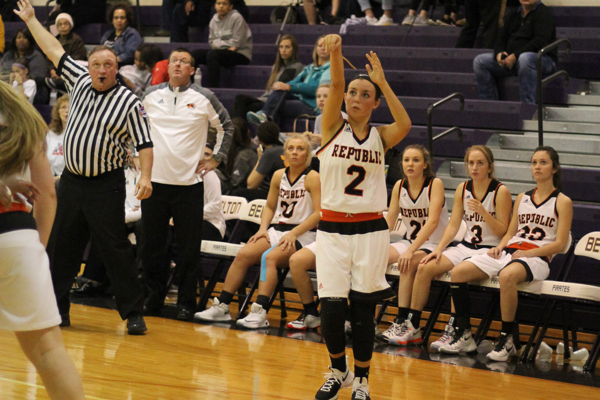 Lady Tigers Heat Up To Grab 1st Win