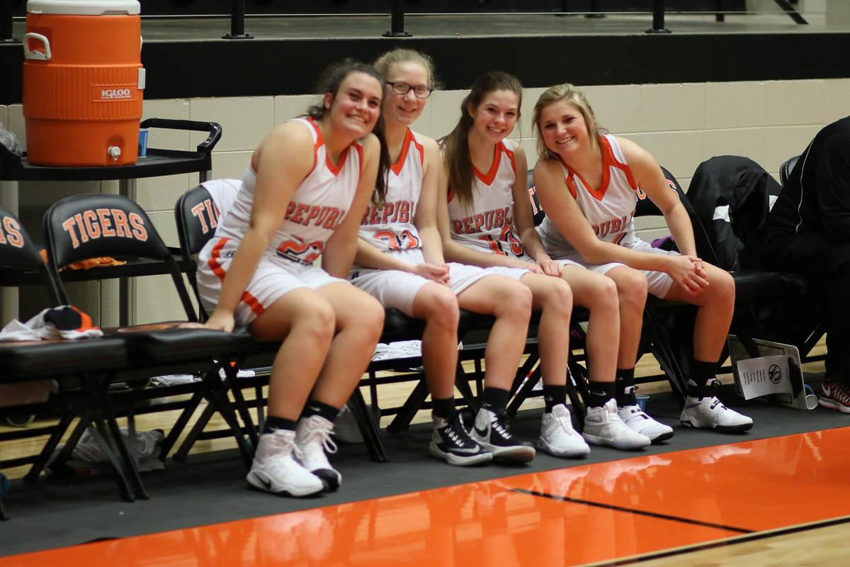 Photos: Freshman Girls Basketball Vs Parkview