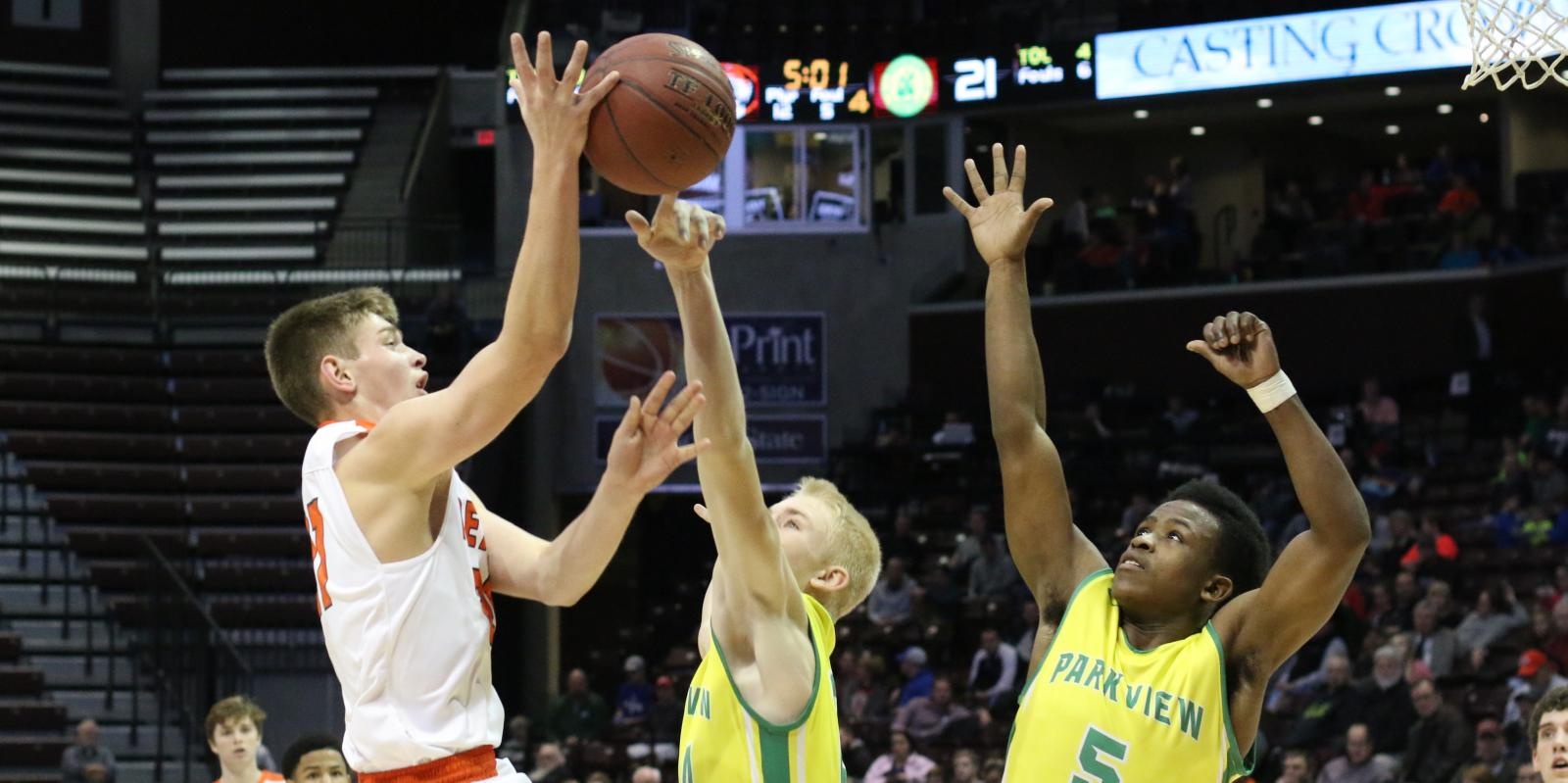 defensive dominance tigers lock down parkview to earn title berth republic tiger sports. Black Bedroom Furniture Sets. Home Design Ideas