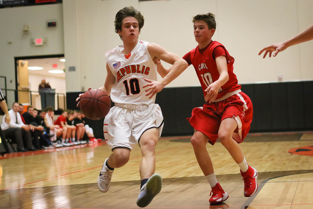 Photos: JV Boys Basketball Vs Carl Junction