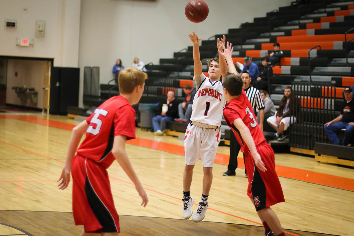 Photos: Freshman Boys Basketball Vs Carl Junction