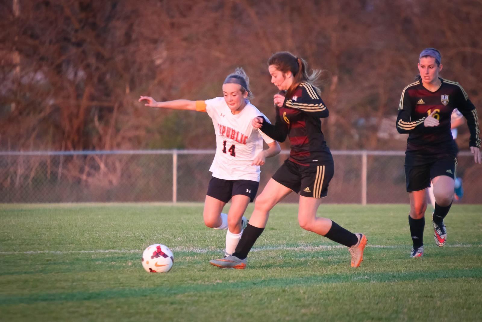 Lady Tigers Shut Out Rogersville for 1st Win