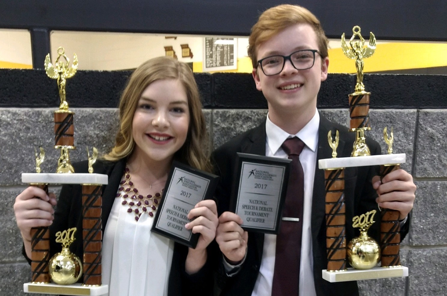 Off The Field: Two Qualify For Speech Nationals