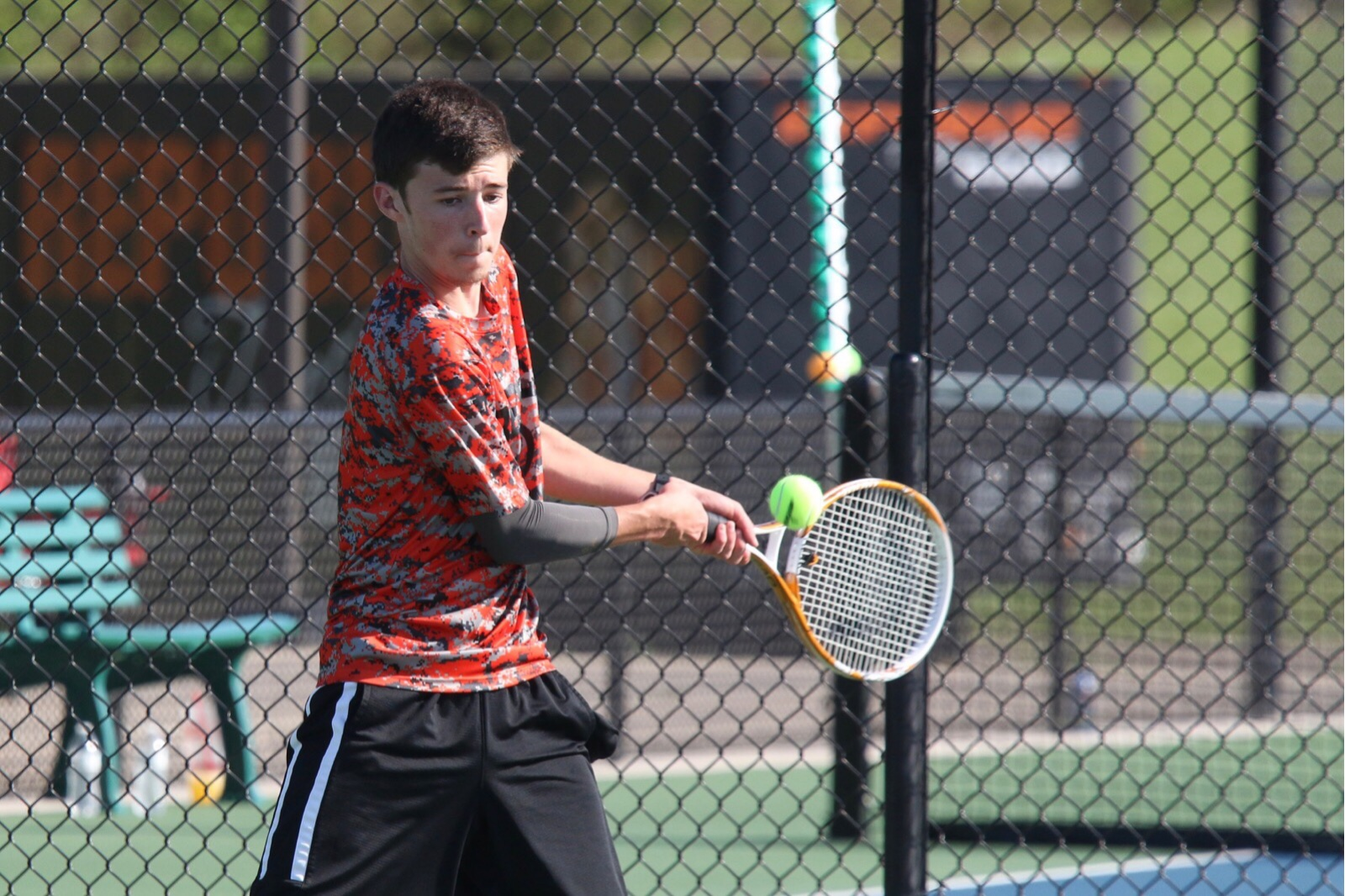 Tennis Tigers Roll On Before Storms Roll In