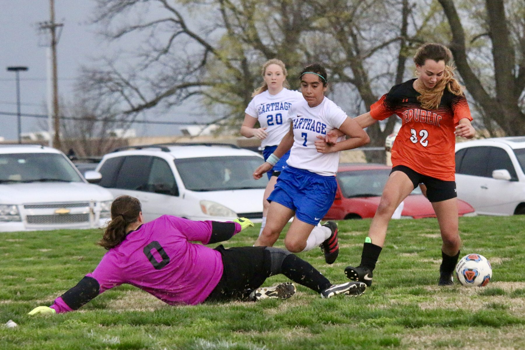 Lady Tigers Beat Storms To Beat Carthage