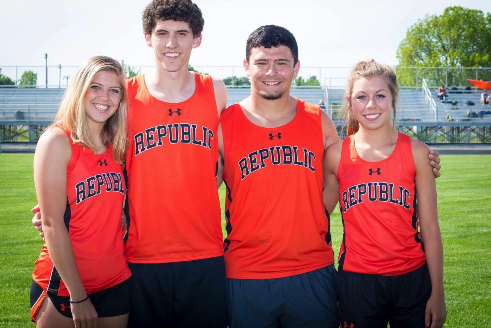 Photos:  Track – Republic Relays (Senior Night)