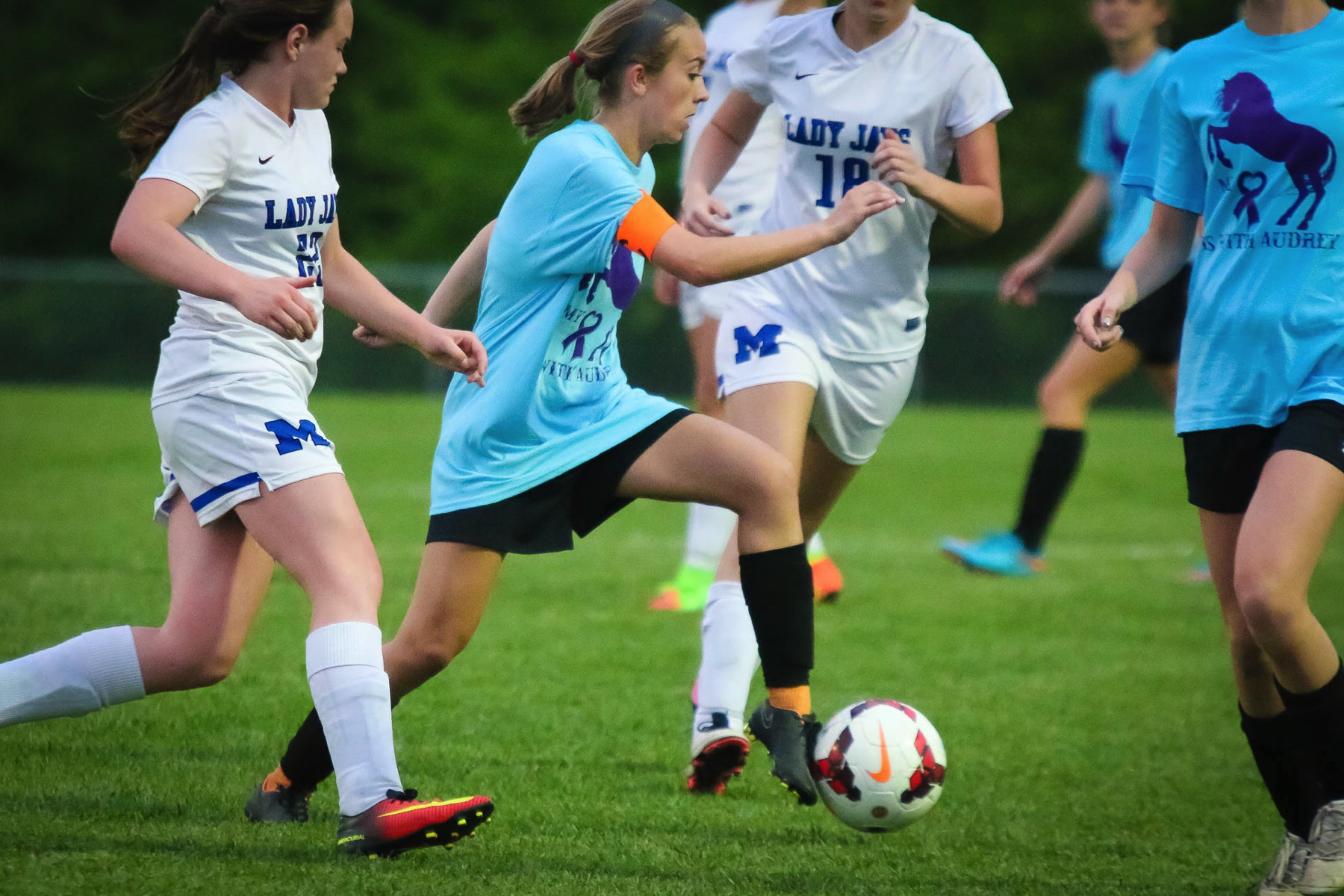 Photos:  Varsity Soccer Vs Marshfield