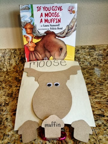 If you give a moose - Muffins fur kindergarten ...
