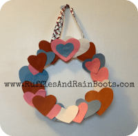 A Paper Plate Wreath Craft: Runnin' Circles 'Round My Heart