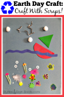 Recycling Crafts for Earth Day: Leftovers to Collages